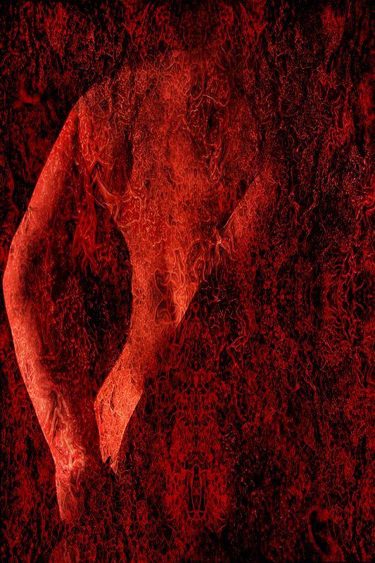 photo artiste femme rouge