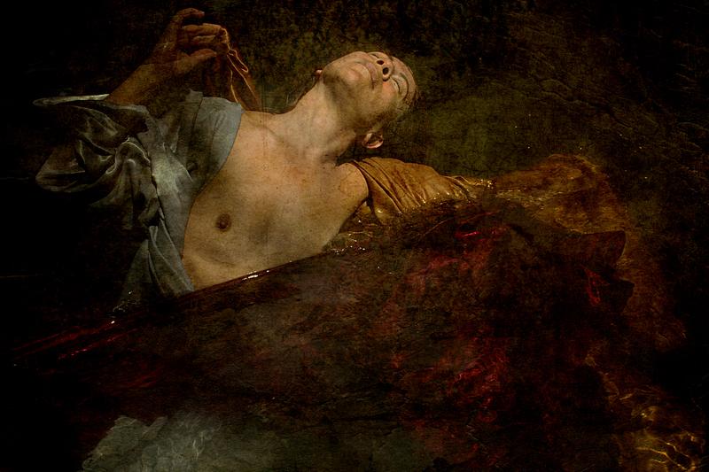 photo artiste femme sein nue